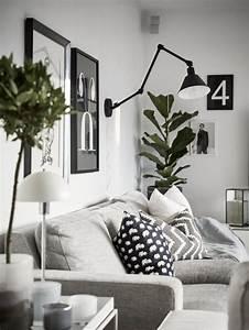 les 25 meilleures idees de la categorie salon blanc sur With meuble salon noir et blanc 18 la deco de la maison objets en bois archzine fr