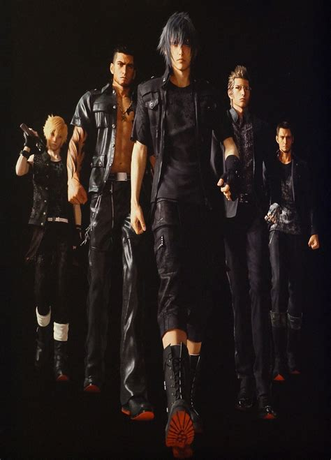 E3 2013: Character Details, Screens For Final Fantasy XV
