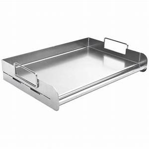 Plancha Gaz En Inox : plaque plancha inox pour braai et barbecue gaz charbon ~ Premium-room.com Idées de Décoration