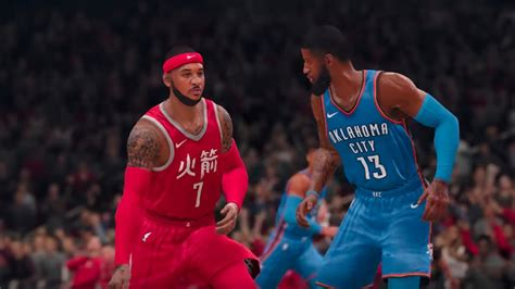 NBA Live 19 Content Update For Late January Adds Carmelo ...
