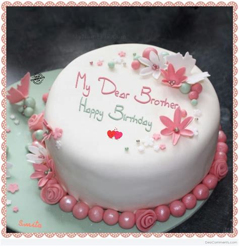 happy birthday  dear brother desicommentscom