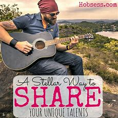 A Stellar Way To Share Your Talent  Hobsess