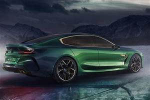 Bmw M8 2018 : bmw m8 gran coupe concept rear right 2018 autobics ~ Melissatoandfro.com Idées de Décoration