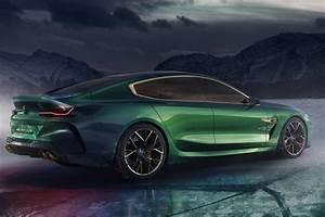 Bmw M8 2018 : bmw m8 gran coupe concept rear right 2018 autobics ~ Mglfilm.com Idées de Décoration