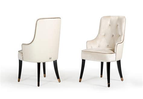 a x larissa modern white fabric dining chair