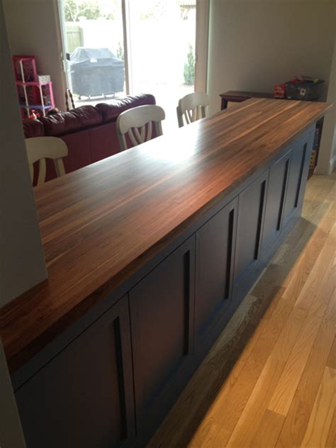 butcher block countertop walnut butcher block any size quote and order