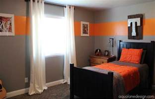 boys bedroom paint ideas paint for boys room with grey and orange colors combination home interior exterior