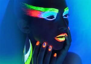 Maquillage Fluo Visage : maquillage fluorescent ~ Farleysfitness.com Idées de Décoration
