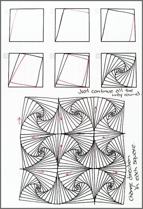 17 zentangle patterns to get your zen back рисовать