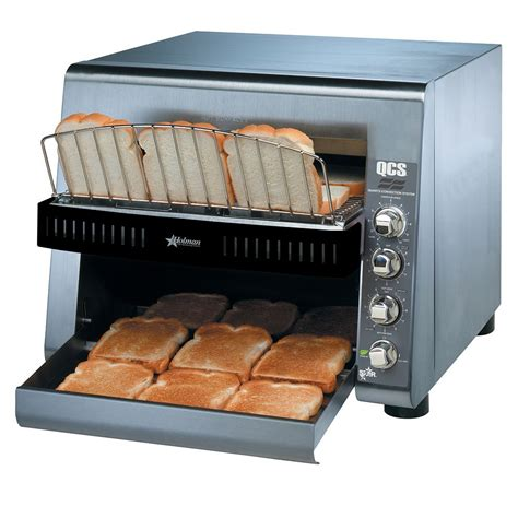 conveyor toaster qcs3 1000 14 quot w belt conveyor toaster 1000 slices
