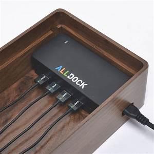 Ladestation Für Handy : ladestation alldock einrichtung handy ladestation usb ~ Watch28wear.com Haus und Dekorationen