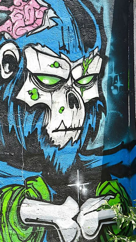 wallpaper graffiti keren  hp android street art