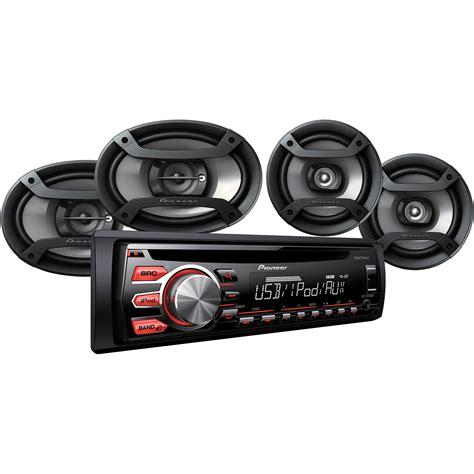 pioneer  speaker car audio system package  ebay