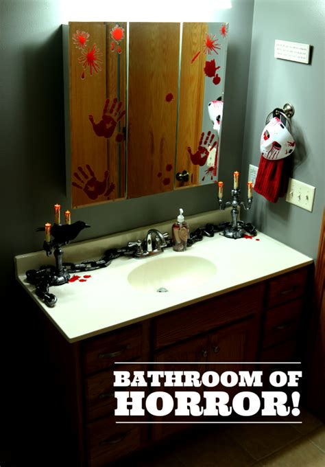 small bathroom makeover ideas how to turn your home into a haunted house