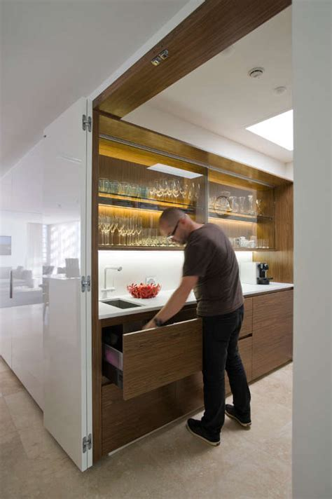 Brilliand Hidden Kitchen   Decoholic