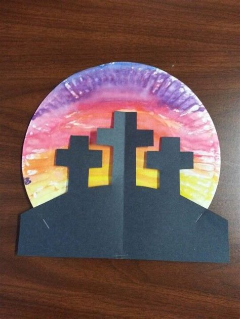 religious easter crafts  kids
