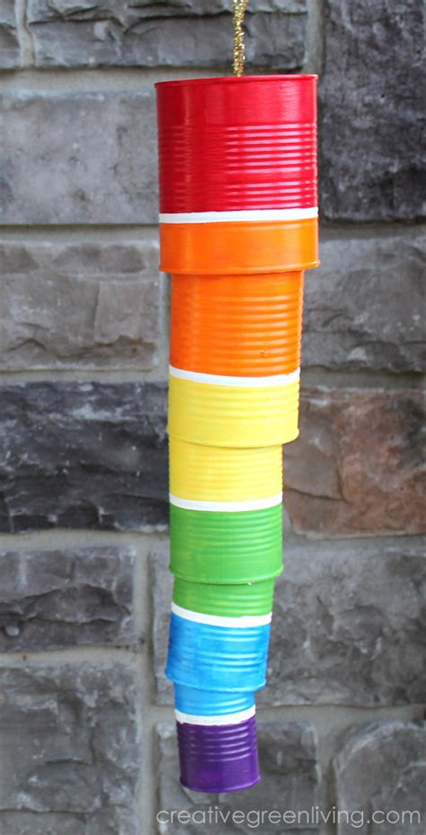 rainbow wind chime fun family crafts
