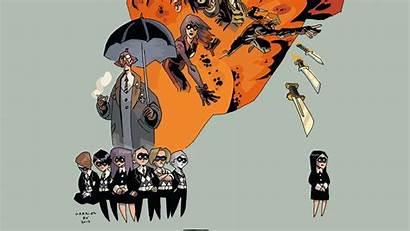 Umbrella Academy Netflix Poster Comics Serie Character