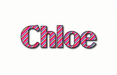 Chloe Text Logos