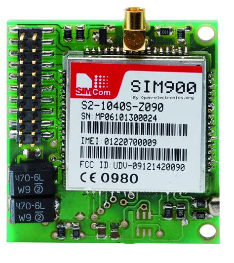 small breakout  sim gsm module open electronics