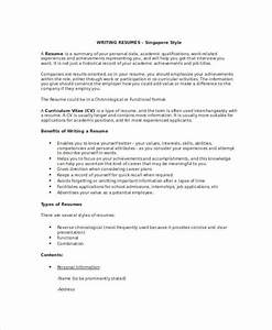 Resume Application Format Free 7 Resume Writing Examples Samples In Pdf Doc