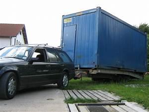 20 Fuß Container In Meter : haengerzug 20 fuss container 3 erfahrungen mit transport eines t wagens mercedes e klasse ~ Frokenaadalensverden.com Haus und Dekorationen