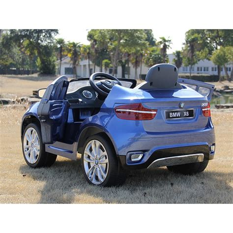 Licensed Bmw X6 12v Kids Ride On Car With Remote Control
