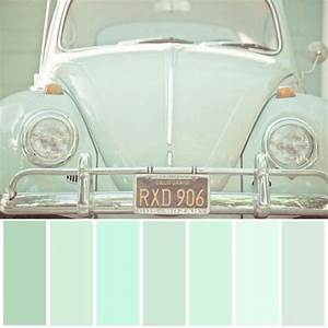 Best 25 mint green walls ideas on pinterest mint for Best brand of paint for kitchen cabinets with vw bug wall art