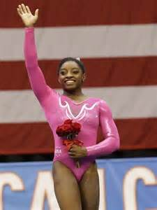 American Gymnast Simone Biles
