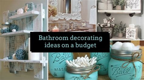 home decor bathroom ideas astonishing diy bathroom decorating ideas on a budget home