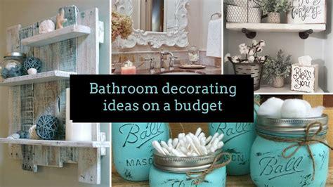 diy bathroom decorating ideas   budget home decor