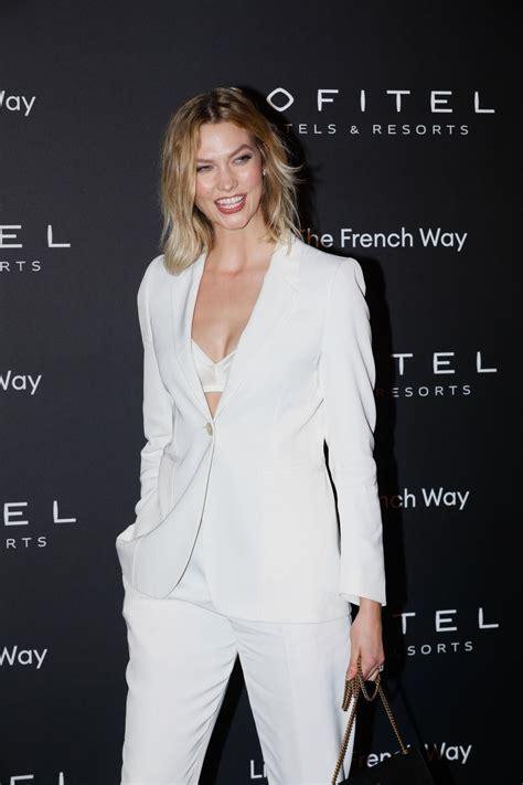 Karlie Kloss Nuit Party Paris Fashion Week