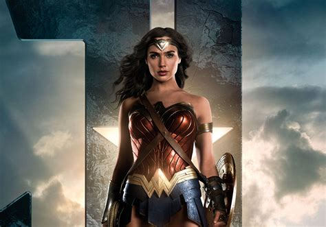 Wallpaper Wonder Woman, Justice League, 2017, Hd, Movies