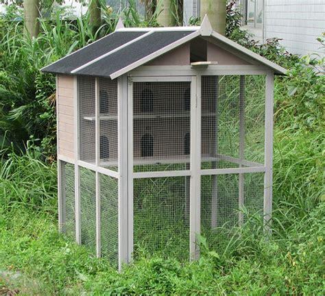 voliere en bois exterieur voli 232 re oiseaux animaloo
