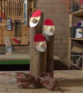 Realizzare un Babbo Natale in legno per le feste natalizie