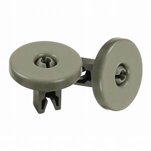 2xlower Dishwasher Wheel Part Assembly Replacement Favorit