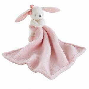 Doudou Lapin Rose : doudou lapin en coton rose capucine maisons du monde ~ Teatrodelosmanantiales.com Idées de Décoration