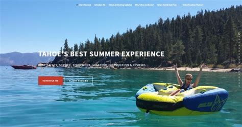 Lake Tahoe Boat Rental Reviews by Tahoe Jet Boats Homewood Ca Top Tips Before You Go