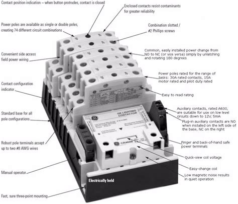 Lighting Contactor Wiring Diagram Elec Eng World