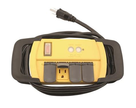 Power All Indoor Gfci Strip Outlet Volt