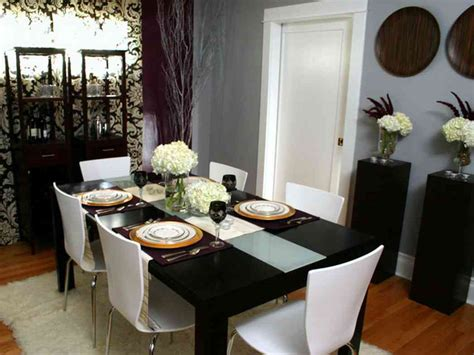 How To Make Dining Table Décor For Round Table Shape