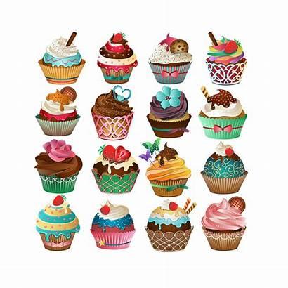 Cupcake Cupcakes Clipart Vector Zoom