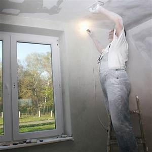 Sous Couche Toile De Verre : poser de la toile de verre au plafond marie claire ~ Premium-room.com Idées de Décoration