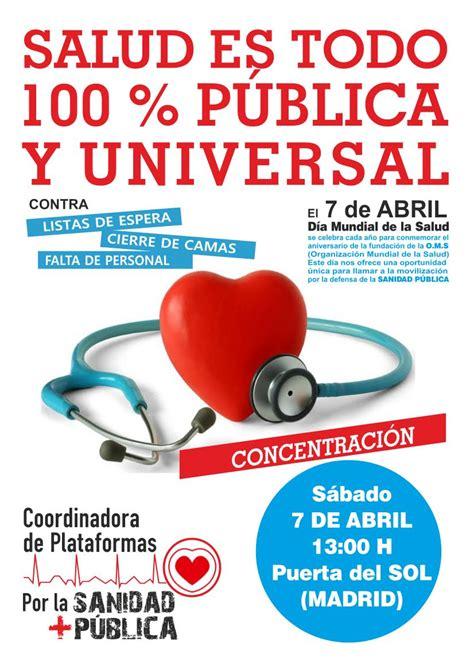 7 de abril, día mundial de la salud - Asociación Vecinal ...