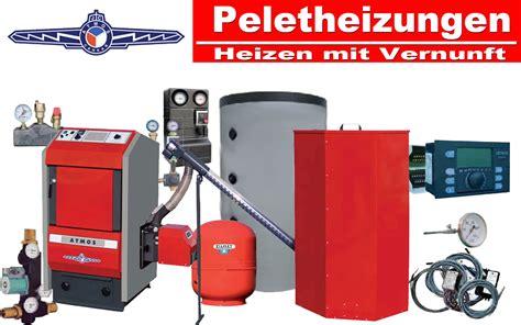 Pelletheizung Atmos komplett Heizung Pellet Brenner Puffer