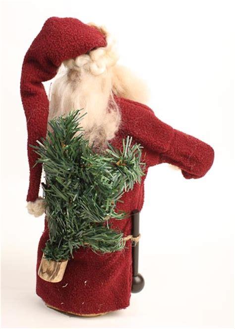 primitive father christmas santa doll primitive dolls