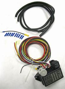 New Universal 8 Circuit Wire Wiring Harness Street Rat Hot