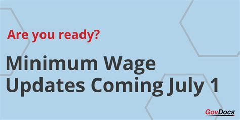 Cities, Counties And States Increasing Minimum Wage Rates