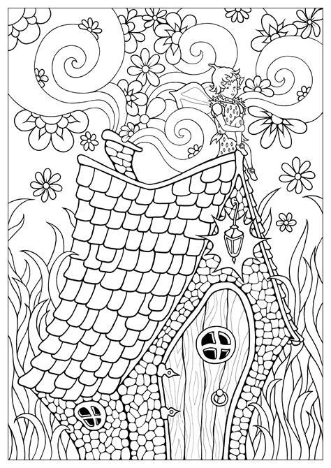 fairy   color  children fairy kids coloring pages
