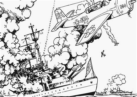 Kleurplaat Oorlog by Kleurplaat Oorlog Op Zee Afb 12802